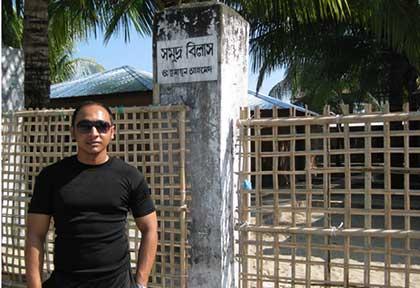 At Saint Martin Island, Bangladesh