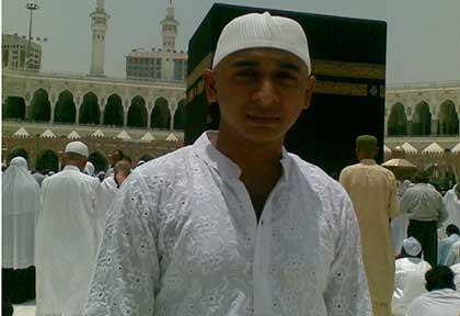 At Mecca, Saudi Arabia (During Performing Umrah)