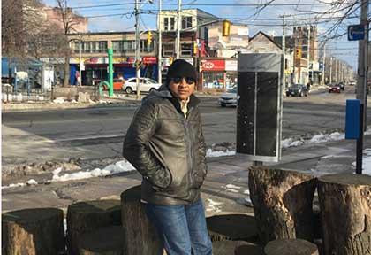 At Toronto, Canada